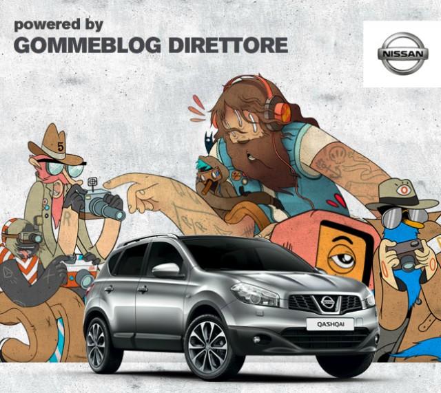 Nissan Qashqai e McBess: diventa anche tu protagonista su Facebook e YouTube