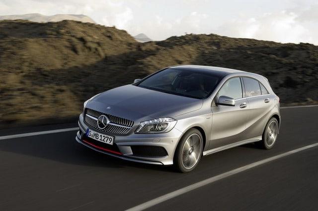 """Nuova Mercedes Classe A: """"A"""" come """"attacco"""" 4"""