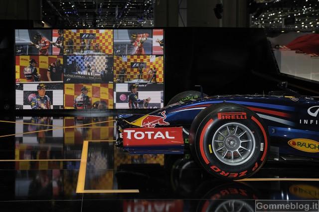 Pneumatici Pirelli al Salone di Ginevra 2012: dal Cinturato P1 alle gomme F1