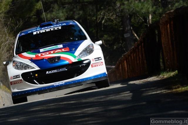 Rally del Ciocco 2012: Peugeot e Andreucci, successo all'esordio