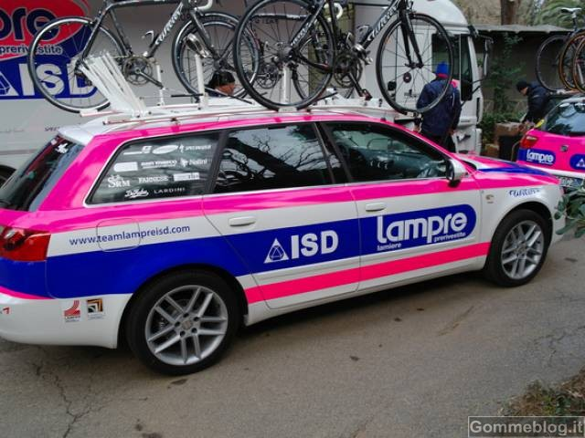 Ciclismo: Lampre ISD viaggia in SEAT 2