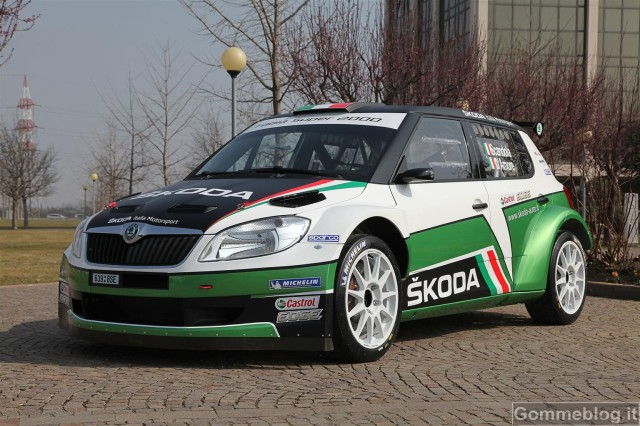 Rally CIR 2012: pronta la Skoda Fabia S2000 Italia Motorsport