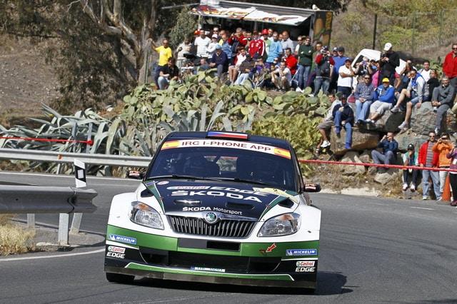 Rally 2012: Dominio Skoda al Rally delle Canarie