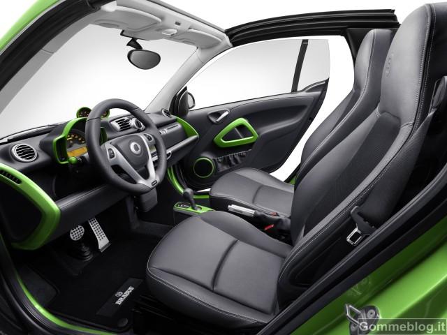 Smart Brabus Electric Drive: nuova vettura sportiva dal cuore verde 3