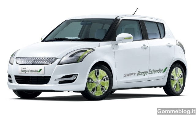 Suzuki al Salone di Ginevra 2012: arrivano G70 e Swift Range Extender 2