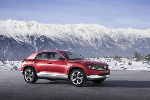 Volkswagen Cross Coupé TDI: 305 CV e solo 1,8 l/100 km di carburante 3