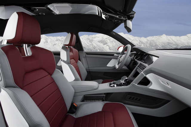 Volkswagen Cross Coupé TDI: 305 CV e solo 1,8 l/100 km di carburante 5