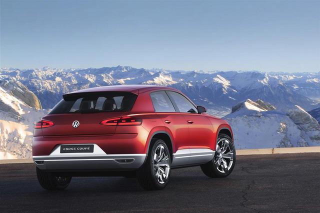 Volkswagen Cross Coupé TDI: 305 CV e solo 1,8 l/100 km di carburante 4