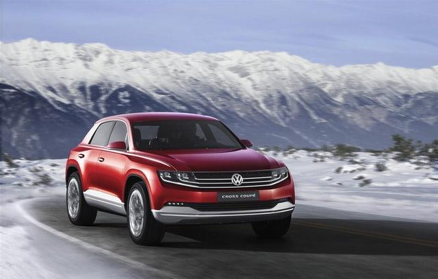 Volkswagen Cross Coupé TDI: 305 CV e solo 1,8 l/100 km di carburante