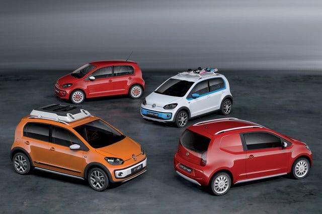 Volkswagen up! A Ginevra la gamma completa e la nuova versione 5 porte