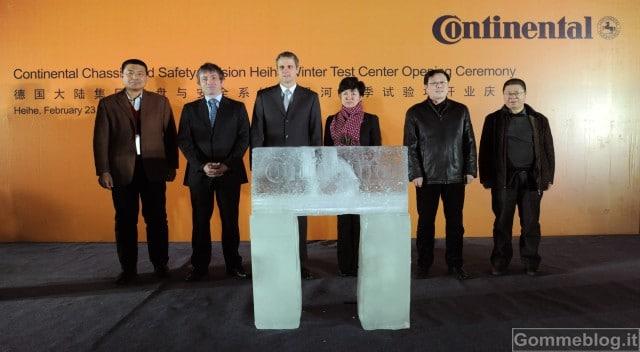 Continental: nuovo centro di collaudo invernale in Cina