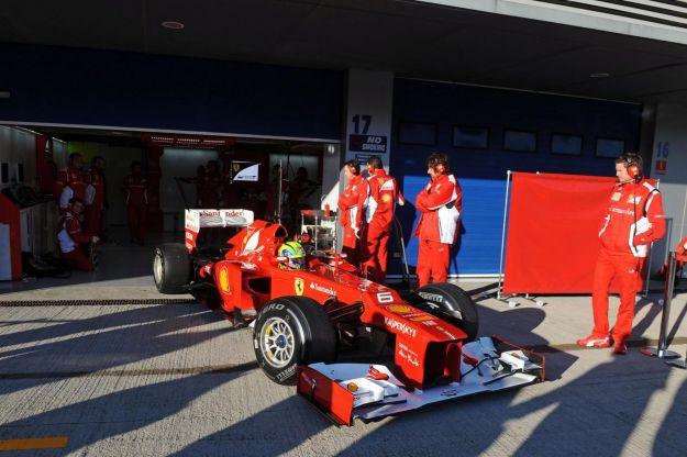 Test F1 Barcellona: Il volo partito da Maranello è in ritardo!