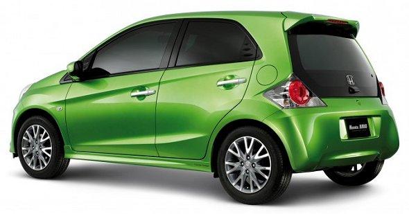 Honda Brio lancia la sfida alla Tata Nano 2