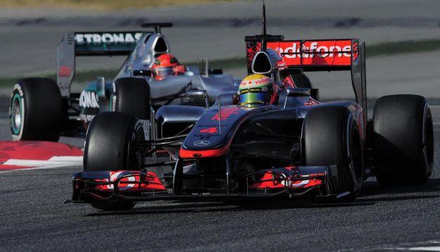 Formula 1 2012: McLaren VS Mercedes. Germania alla riscossa !