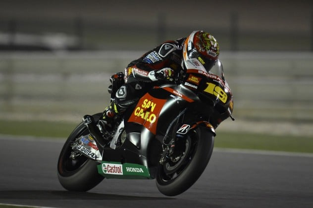 Moto GP Jerez 2012. Intervista ad Alvaro Bautista, Team Gresini 1