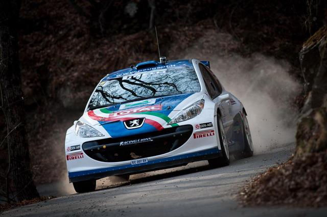 Rally Mille Miglia: sfida europea per Peugeot e Andreucci