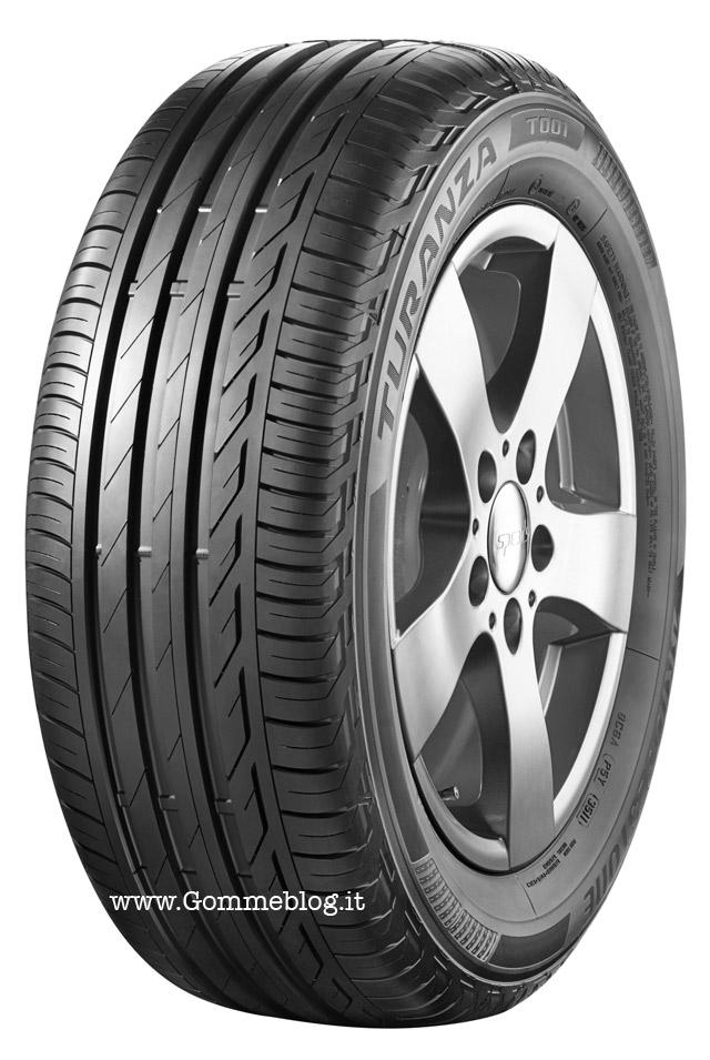 Bridgestone Turanza T001: al top nei Test pneumatici