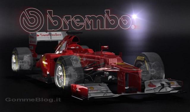 Formula 1 2012: il funzionamento dei nuovi freni Brembo F1- Video 3D