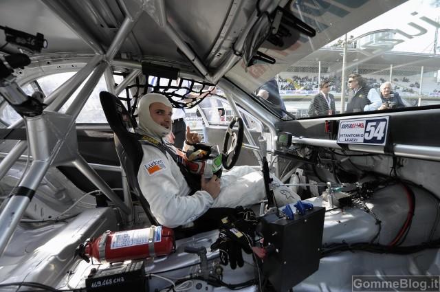 Mercedes C 63 AMG e Liuzzi protagonisti a Monza nel campionato Superstars