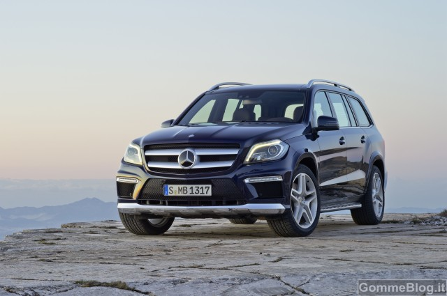 Mercedes-Benz GL Restyling 2012