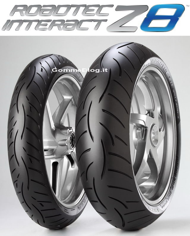 Metzeler Roadtec Z8 Interact Set Metzeler Roadtec Z8 Interact Test pneumatici moto