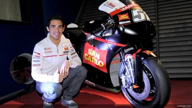 Moto GP Jerez 2012. Intervista a Michele Pirro, Team Gresini