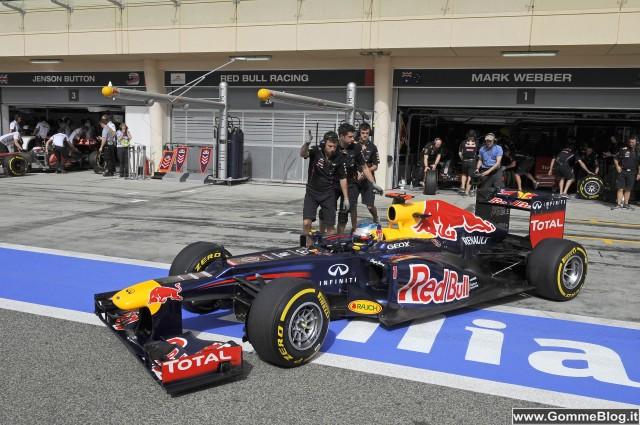 Formula 1 GP Bahrain: Vettel torna in pole con Pirelli P Zero Yellow Soft 1