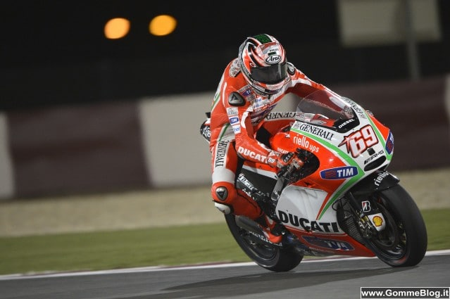 Moto GP 2012 Qatar: intervista a Nicky Hayden Ducati Team