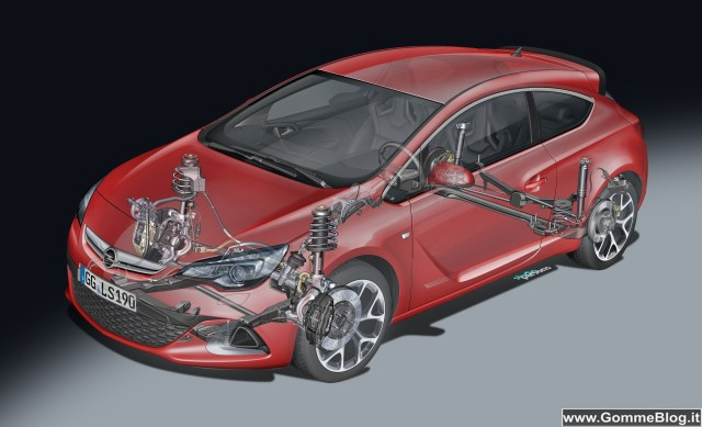 Auto Tecnica: l'esclusivo telaio ad alte prestazioni di Astra OPC 2