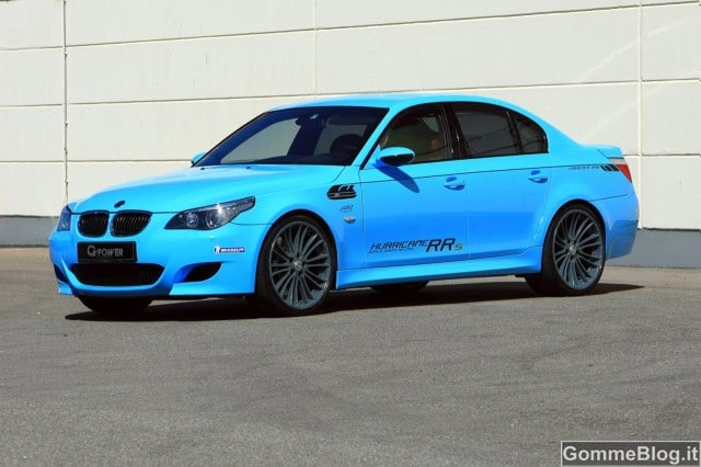 Immagini BMW M5 Tuning Hurricane RR G-Power – Foto Gallery