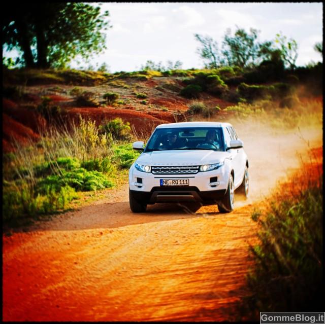 Goodyear EfficientGrip SUV e Range Rover Evoque