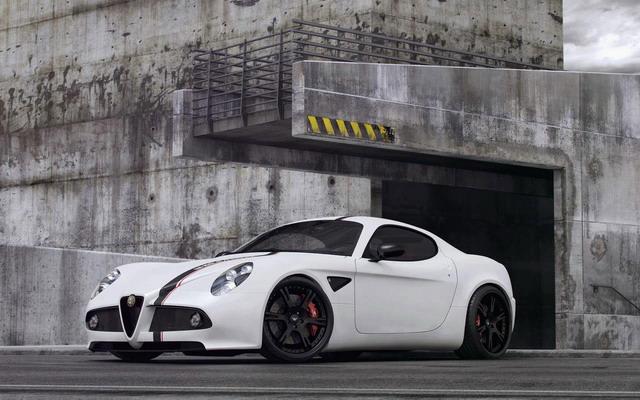 Immagini Alfa Romeo 8C Competizione Tuning Wheelsandmore – Foto Gallery 1