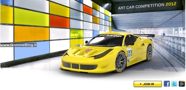 Disegna la livrea Dunlop per la JMW Ferrari 458 e vinci il MotoGP 2