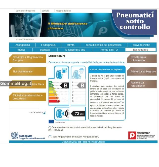 Etichettatura Pneumatici: cosa è e come leggerla 4