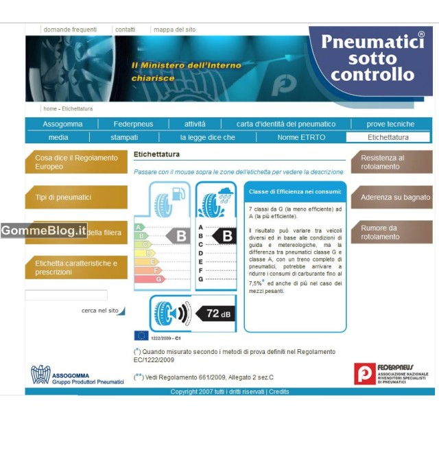Etichetta Pneumatici: Come vengono fatti Test e Valutazioni 4