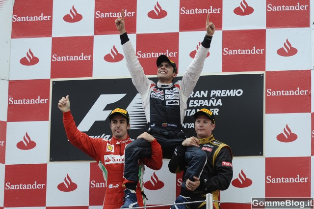 Williams conquista con gomme Pirelli la vittoria a Barcellona 3