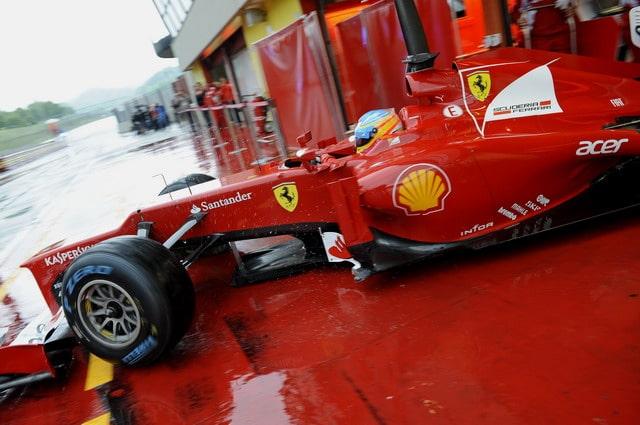 Formula 1 2012: i Pneumatici Pirelli tornano al Mugello per la prima sessione di test 2
