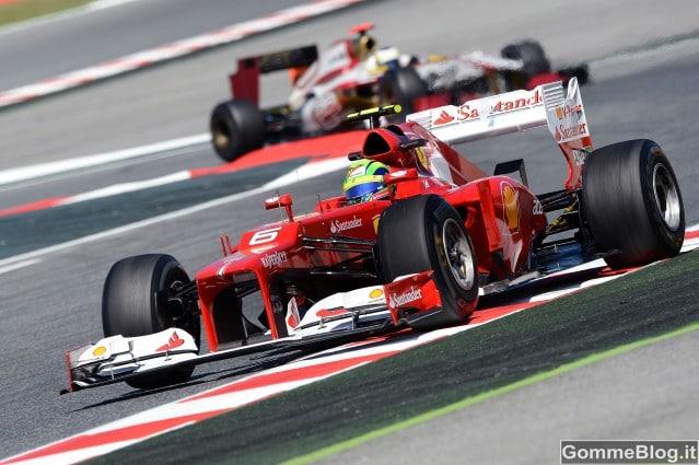 Pirelli P Zero Hard e Pirelli P Zero Soft al GP di Spagna 2012