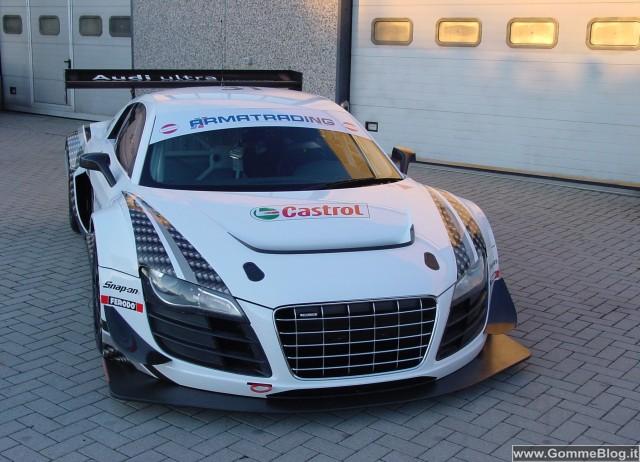 La Audi R8 LMS ultra al via del Campionato Italiano GT3