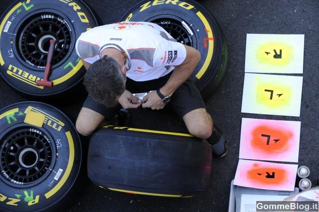 Pneumatici Pirelli P Zero Supersoft al GP Monaco F1 2012 2