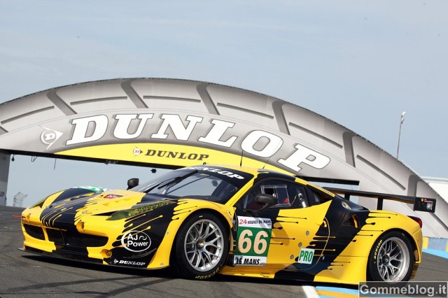 24 Ore di Le Mans 2012: Dunlop presente in 4 categorie
