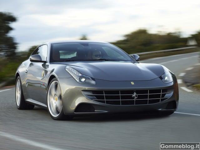 Ferrari FF: Bridgestone S001 come 1° equipaggiamento