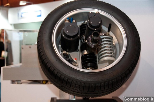 Michelin Active Wheel al Goodwood Festival of Speed 2012 2
