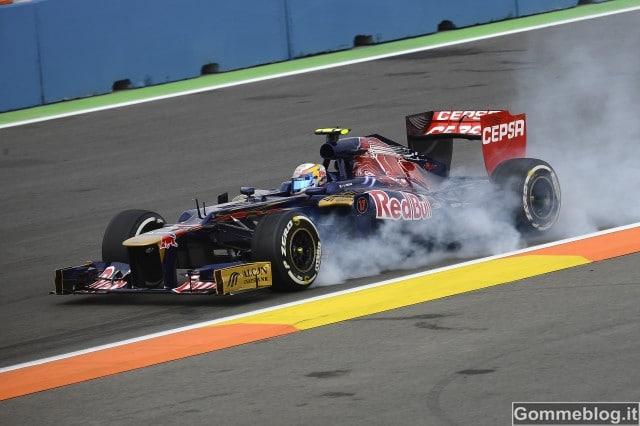 Formula 1 Valencia: con gomme soft e medium … tutti in 1 secondo