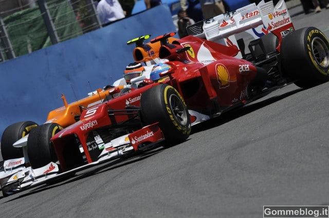 Formula 1: Alonso è il primo pilota a vincere due gare nel 2012 con Pirelli