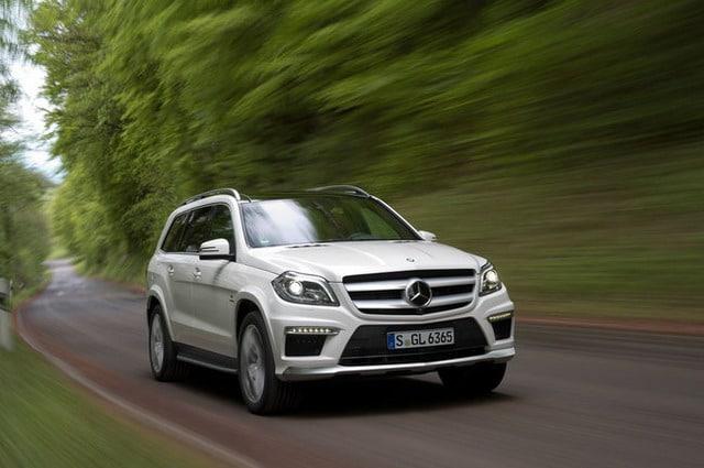 Immagini Mercedes GL 63 AMG – Foto Gallery