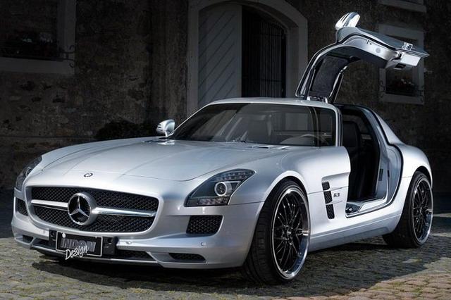 Mercedes SLS AMG Tuning Auto Inden Design