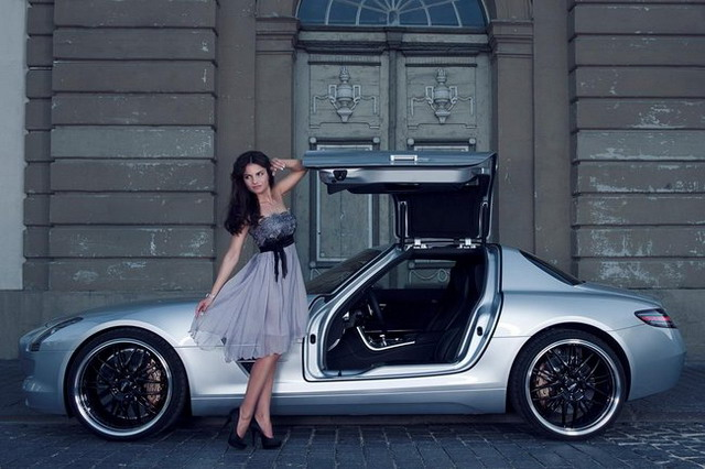 Immagini Mercedes SLS AMG Inden Design – Foto Gallery