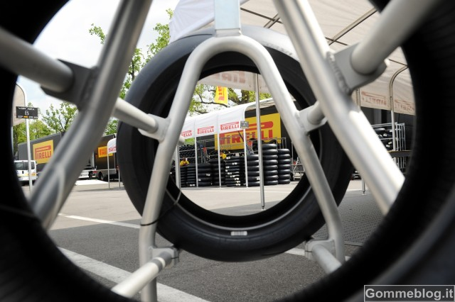 Pneumatici Pirelli Diablo: ad Aragon primo esame in Superbike per i 17 pollici