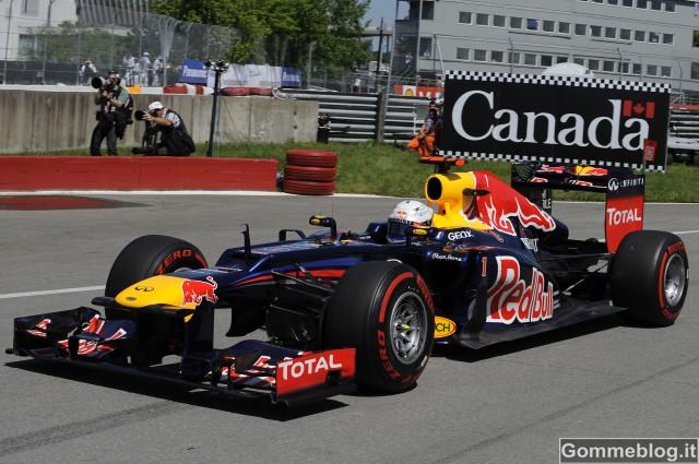 Formula 1 2012 Canada: Vettel si aggiudica una pole combattuta con Pirelli